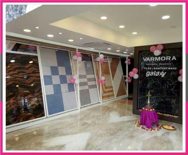 Exclusive Showrooms Of Varmora Granito Pvt Ltd